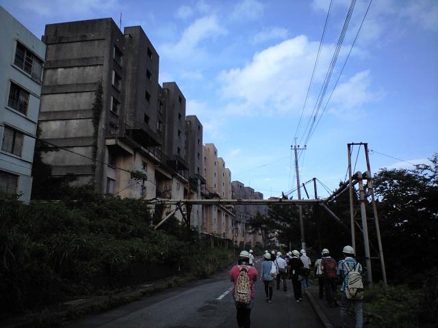 #Jheritage長崎産業遺産視察勉強会 池島炭鉱1番方(町内見学なう)