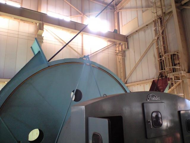 #Jheritage長崎産業遺産視察勉強会 池島炭鉱1番方(6000mmブレーキドラム)