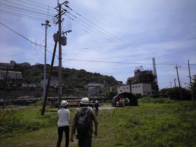 #Jheritage長崎産業遺産視察勉強会 池島炭鉱1番方(退勤なう)