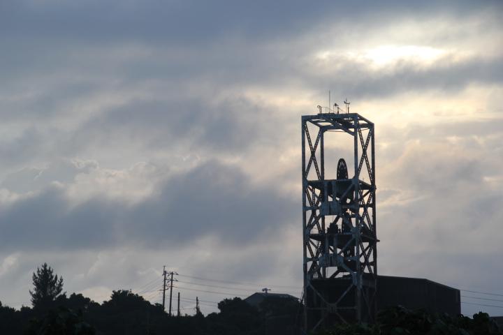 #Jheritage長崎産業遺産視察勉強会 夜明けの巻揚げ櫓