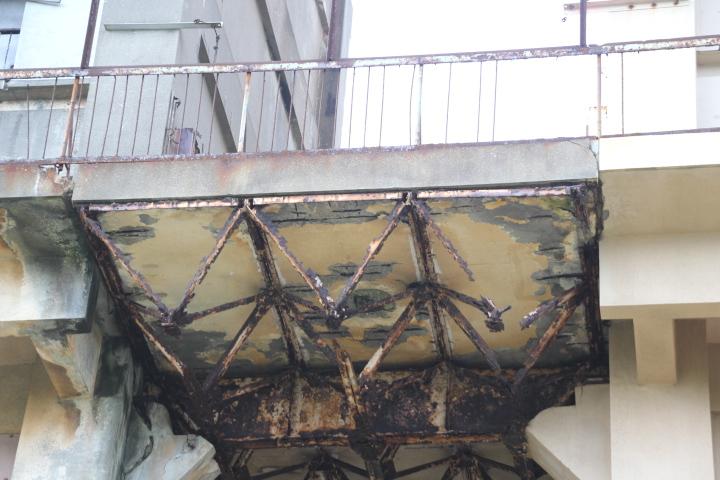 #Jheritage長崎産業遺産視察勉強会 三弦トラス上路渡り廊下