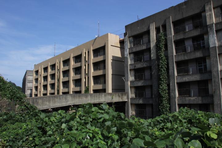 #Jheritage長崎産業遺産視察勉強会 地上4階+地下4階の炭鉱団地