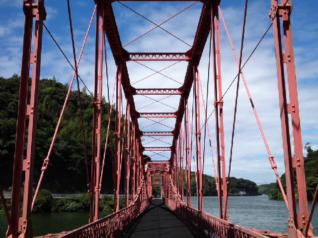 橋梁@メガネトラスってのもいいですね〜 もちろんトリトラス橋梁が一番カッコいいですけどね