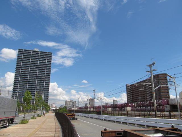 蒸気機関車で有名だった鷹取工場は遠い昔のことになりにけり