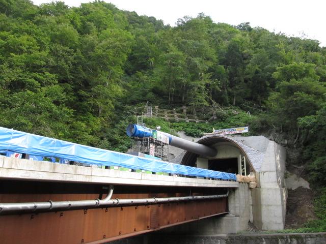 きまぐれ未完道路 酷道157号線 熊河トンネル