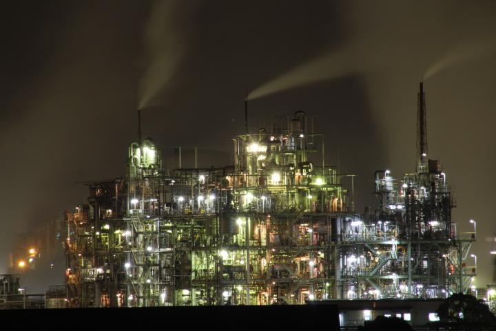徳山の新しい工場夜景スポット、敷地も広いので時間を掛ければもっと良いアングルが狙えるかもしれません