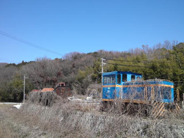 北神急行(公団P線)に残ってた青函トンネル(公団G線)の工事車両が廃棄されたと聞いて心当たりを探したけれど