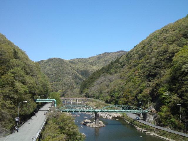今日のボーストリングトラス橋(水菅橋)