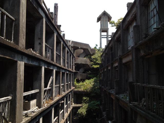 #長崎産業遺産視察勉強会 で軍艦島なう なんと、特別な許可を頂いて軍艦島(端島炭鉱)の見学に来ております!