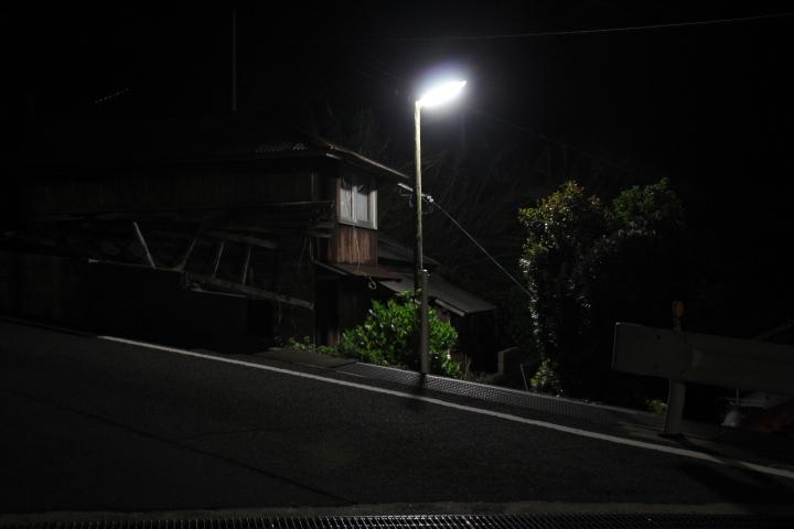 #長崎産業遺産視察勉強会 池島炭鉱の坂の夜景