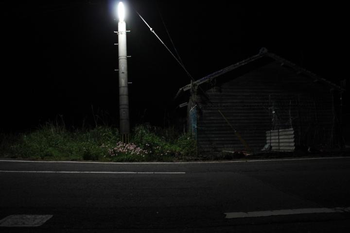 #長崎産業遺産視察勉強会 池島炭鉱の町の夜景