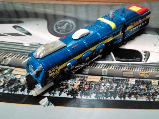 銀河鉄道999に登場した、銀河鉄道444の模型が出てきた