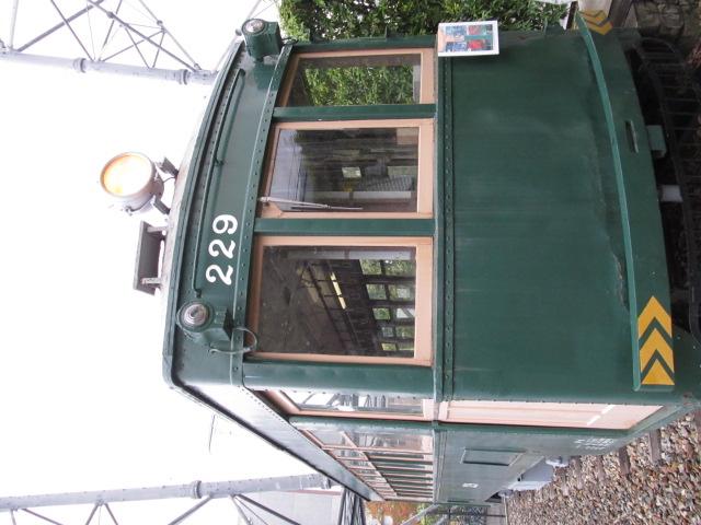 南海電鉄の路面電車を見学させてもらった
