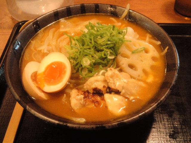 北海道ラーメン伝丸のスープカレーラーメン