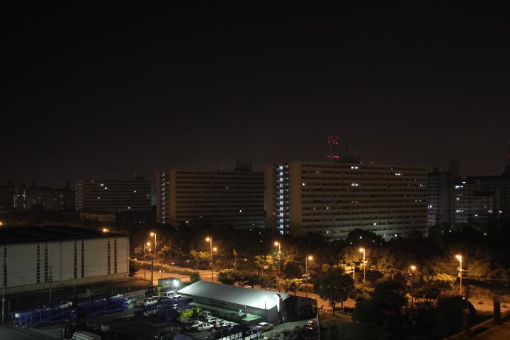 通りすがりのツイコリ団地夜景