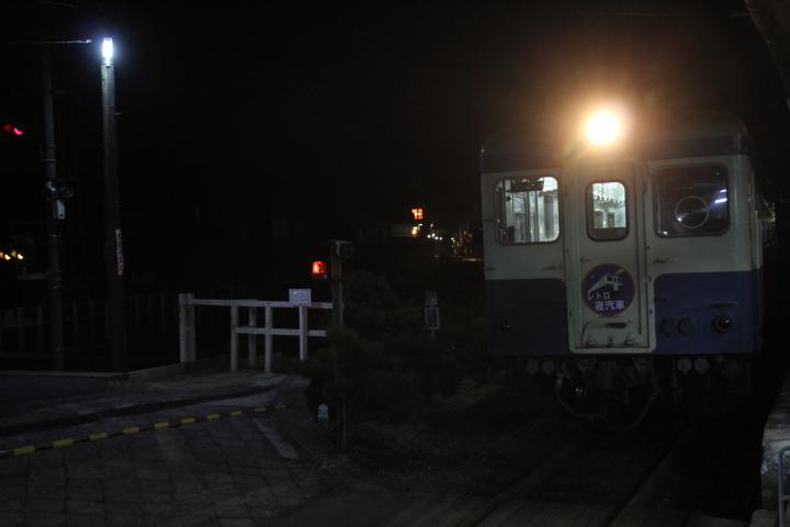 本日ひたちなか海浜鉄道で行われた羽幌炭鉱鉄道キハ222の最終運転に羽幌炭鉱鉄道ファンが大勢集まりました
