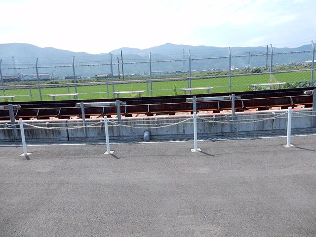 八代のフリーゲージトレイン用の軌間切り替え装置を見に行ってきた