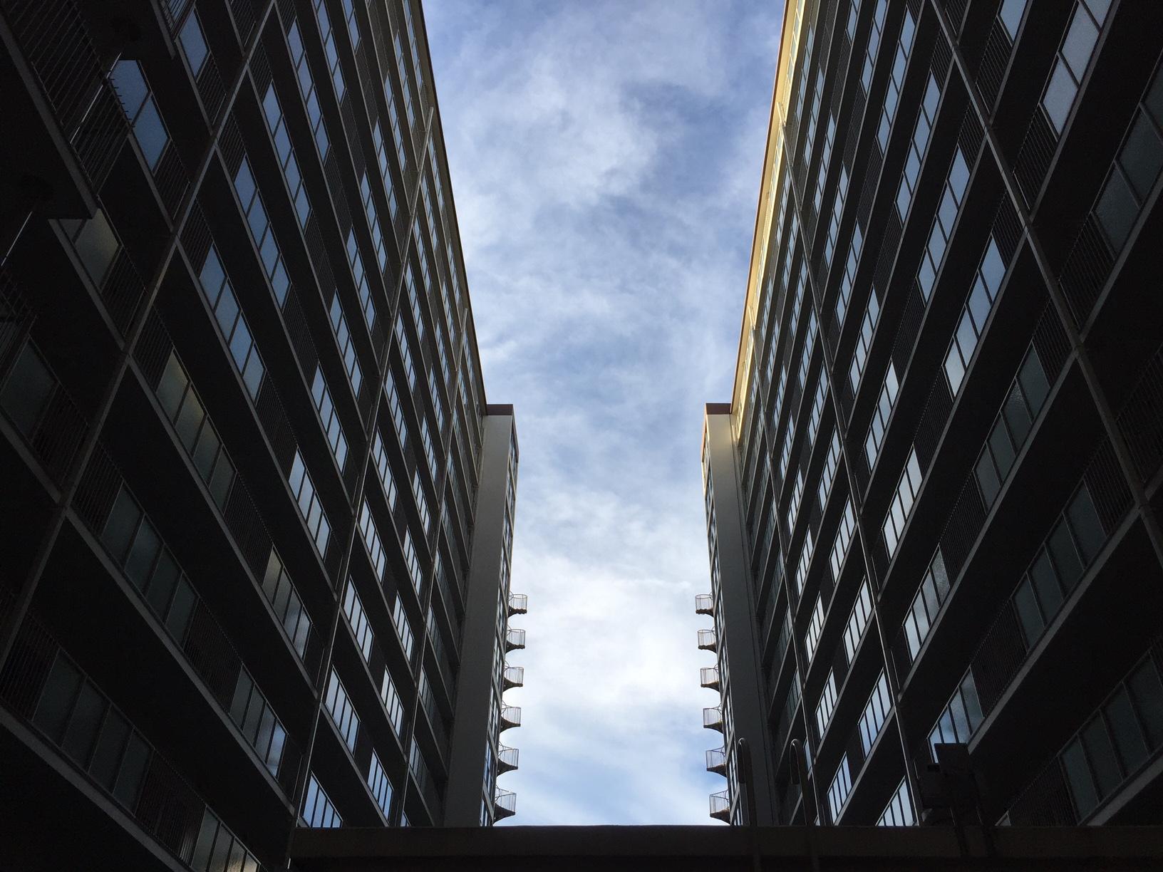 建築@ツイの空 #ツイコリ #danchi