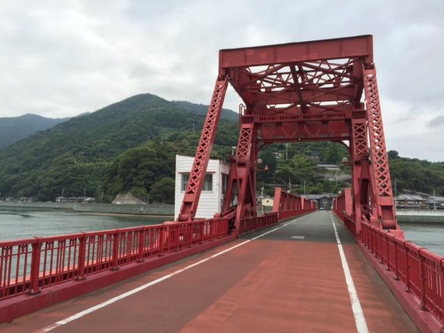 今日の昇開橋を紹介するぜ!(ダジャレ)