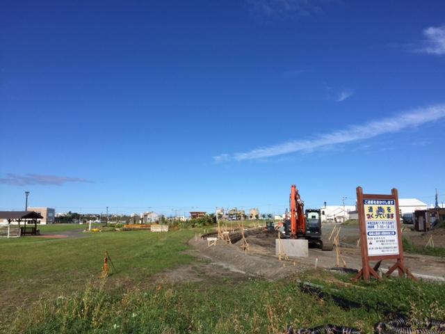 【悲報】留萌駅裏手の羽幌線の廃線跡、道路工事によりしめやかに消滅