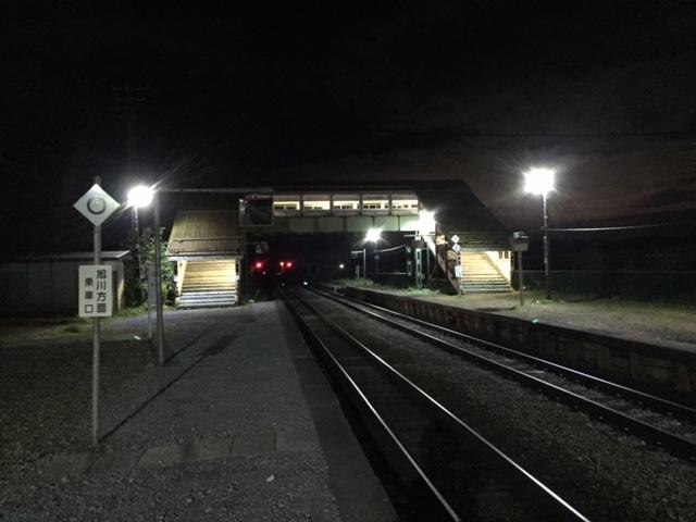 ついでに言うと、建て替えた比布駅、意外に良いデザインだった