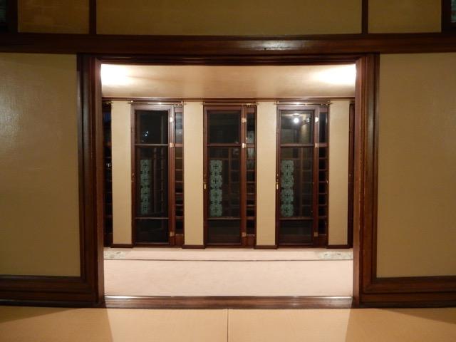 #ヨドコウ迎賓館 網戸は銅製って、当時は当たり前だったのこ、それとも当時でも最高級の仕上げだったのか?