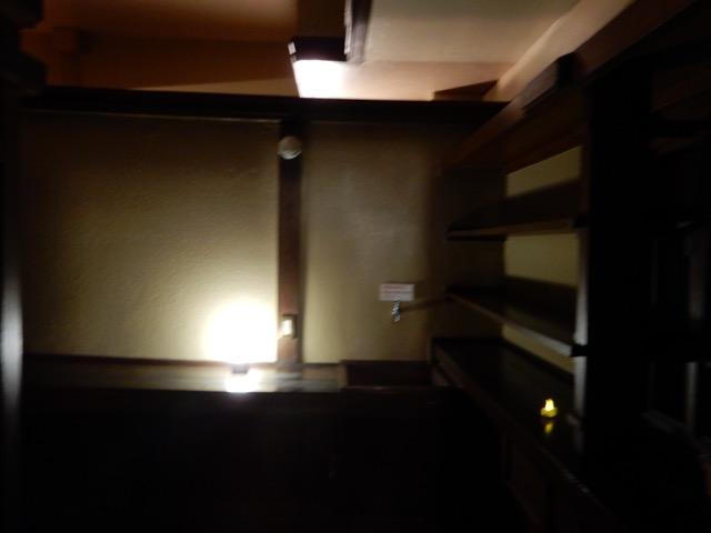 #ヨドコウ迎賓館 昭和60年の修復作業では、特に食堂の設計が複雑で、設計の絶妙さと建設当時の職人技が凄かった