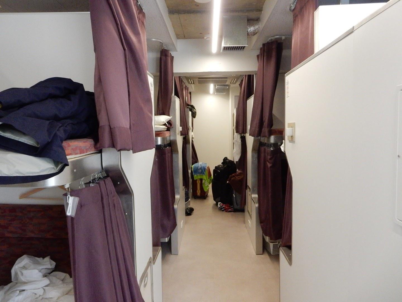 旅行@寝台列車「北斗星」をイメージしたホテルに泊まってみた(20170101)