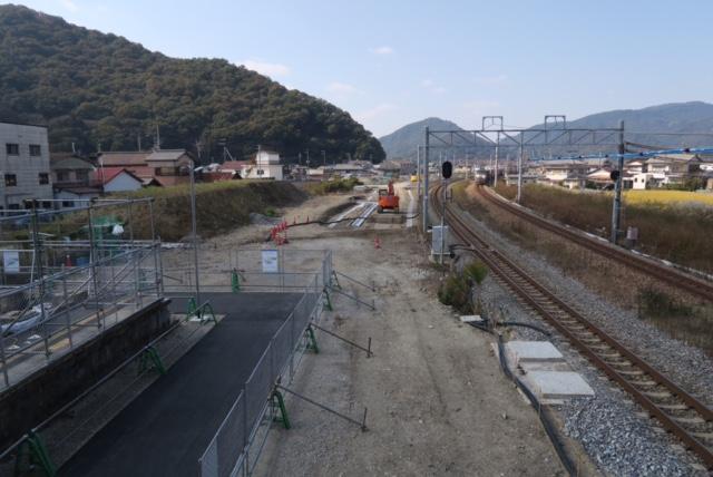 建築@兵庫県に現存する最古の駅舎と言われた築120年の有年駅の成れの果て