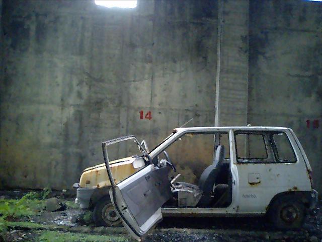 廃墟:羽幌・築別炭鉱
